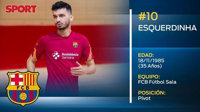 Esquerdinha (FC Barcelona Fútbol Sala)