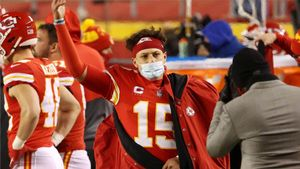 Mahomes, quarterback de los Chiefs
