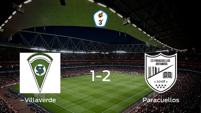 El Paracuellos Antamira vence 1-2 en el estadio del Villaverde