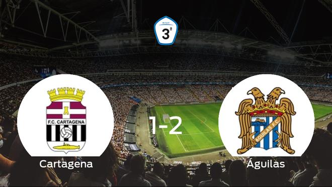 1-2: El Águilas se impone en el estadio del Cartagena B