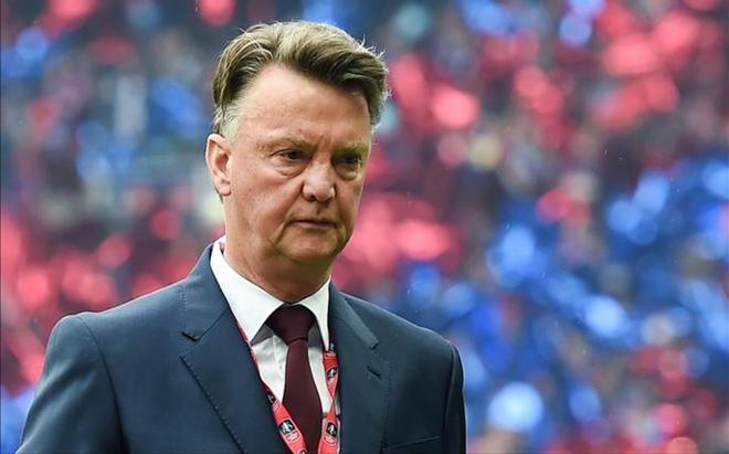 Van Gaal, tras la final de la FA Cup en que el Manchester United se proclamó campeón