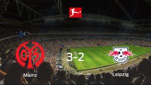 Tres puntos para el equipo local: Mainz 05 3-2 RB Leipzig