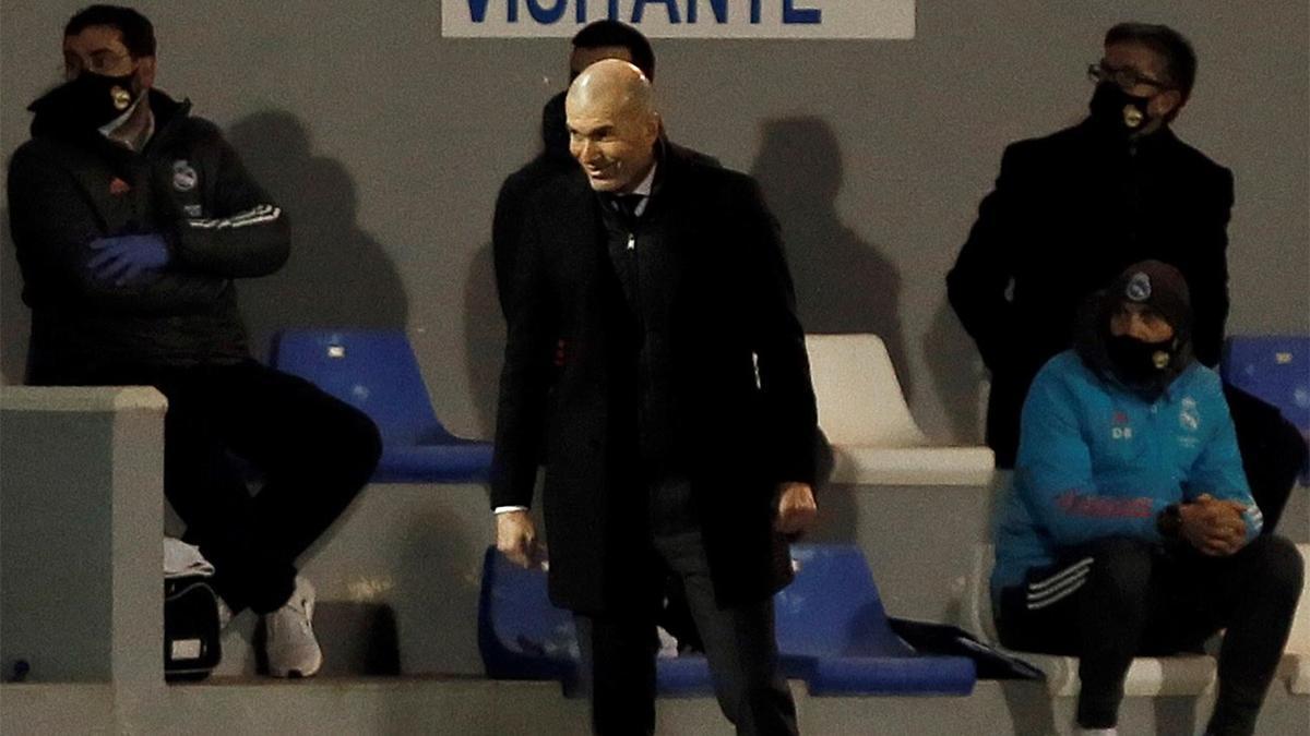 Zidane tras perder ante el Alcoyano: La responsabilidad es mía