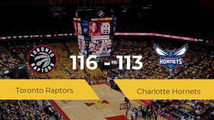 Toronto Raptors logra la victoria frente a Charlotte Hornets por 116-113