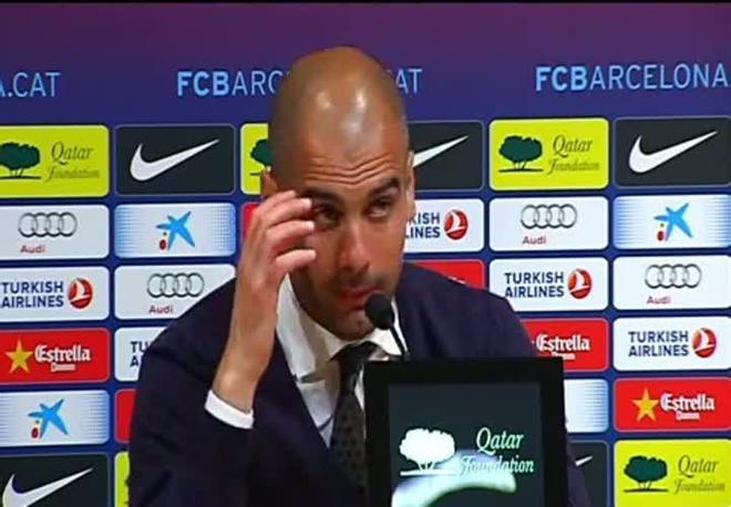 Guardiola: Los equipos de este nivel, tienen la justa presión