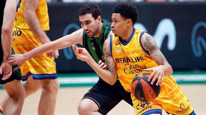 El Herbalife Gran Canaria ganó con comodidad en el Olímpic