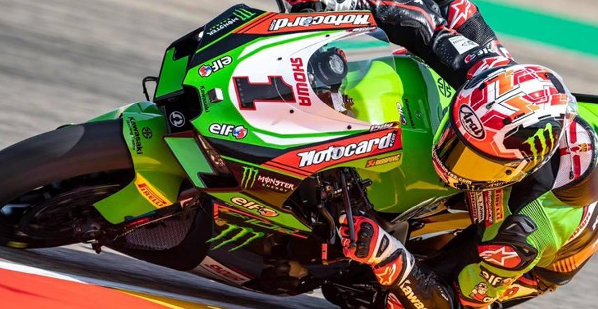 Rea, vigente campeón y líder de Superbikes