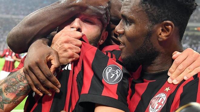 El AC Milan disputará la Europa League