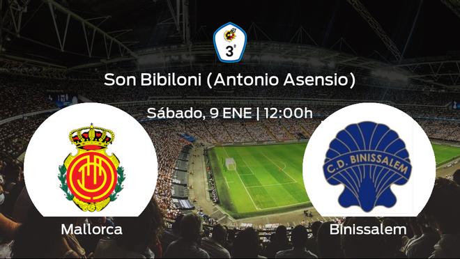 Previa del partido: el Mallorca B recibe al Binissalem