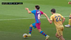 Él se lo guisa, él se lo come: ¡qué ocasión de Riqui Puig contra el Levante!