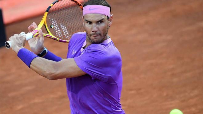 Nadal juega hoy ante Zverev en Roma