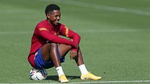 Ansu, la ilusión del Barça