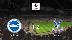 El Crystal Palace gana por 1-2 al Brighton and Hove Albion