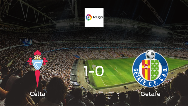 Visiting Getafe left with nothing after Celta take all 3 points