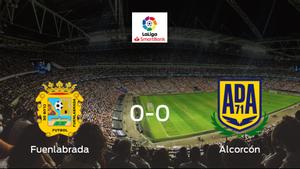 El CF Fuenlabrada y el Alcorcón empatan sin goles en el Estadio Fernando Torres (0-0)