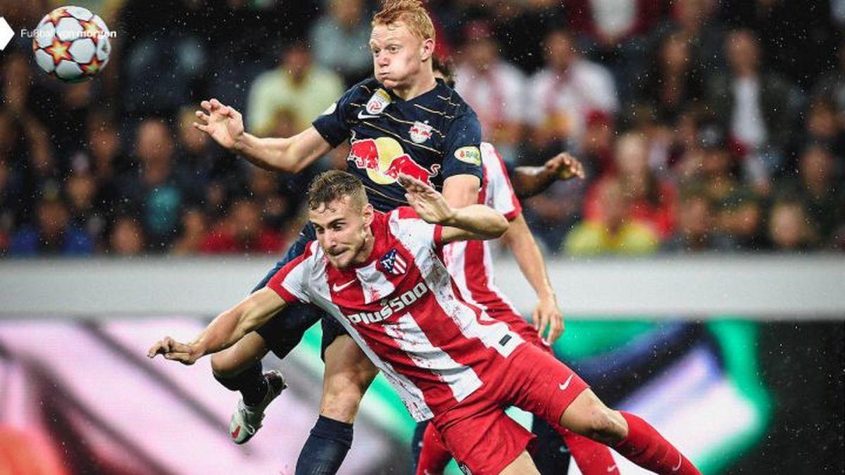 Aunque sin sus principales efectivos, el Atlético de Madrid se vio superado en su derrota por la mínima contra el Salzburgo
