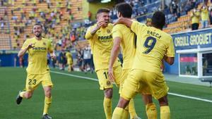 Goleada del Villarreal al Sevilla