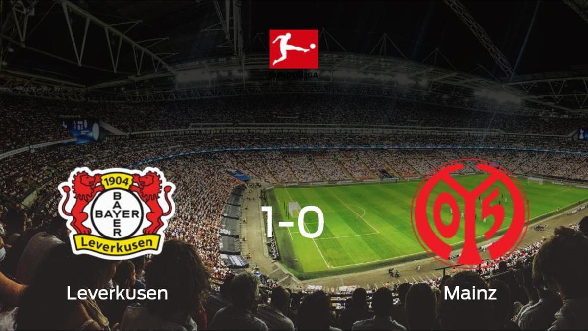 El Bayer Leverkusen logra una ajustada victoria en casa frente al Mainz 05 (1-0)