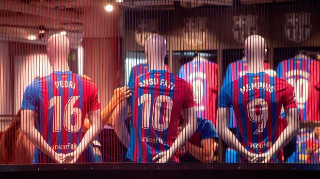 La Barça store del Camp Nou