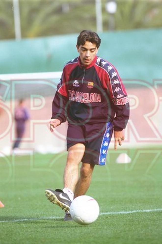 15.Xavi Hernández 1998