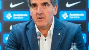 Carlos Ortega, técnico del Barça