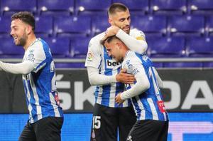 El sufrido empate del Espanyol ante el Oviedo