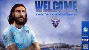 Chygrynskiy fichó por el Ionikos Nikeas
