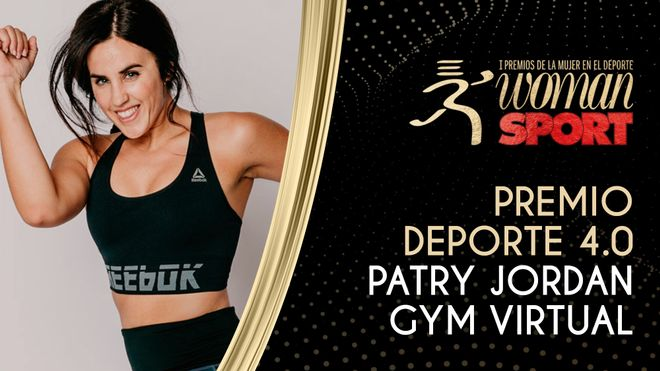 Premio Deporte 4.0: Patry Jordán, la reina del fitness 'on line'