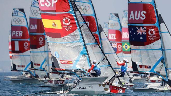 Echegoyen y Barceló quieren dar la primera medalla en vela en Tokio 2020