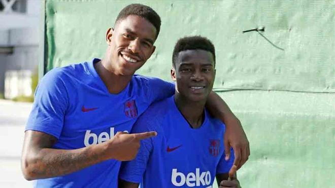 Wagué, junto a Junior Firpo, pueden jugar en Leganés