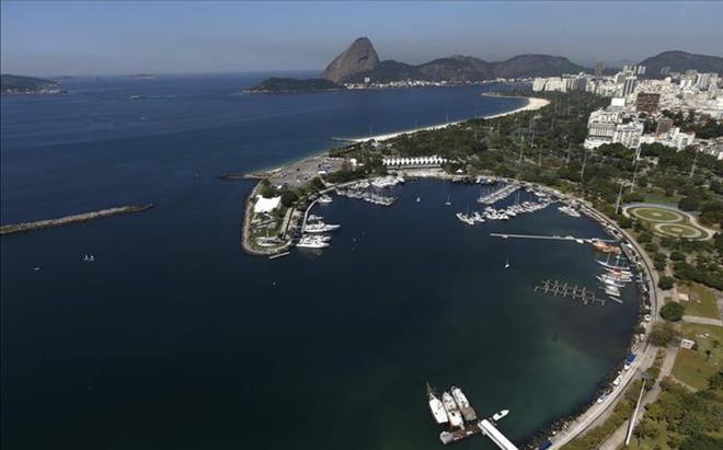 La bahía de Río, escenario de los Juegos 2016