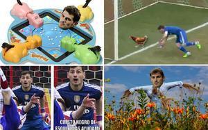 Casillas fue el blanco de todos los memes tras el Atlético-Real Madrid