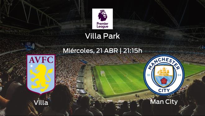 Previa del partido: el Manchester City defiende su liderato ante el Aston Villa