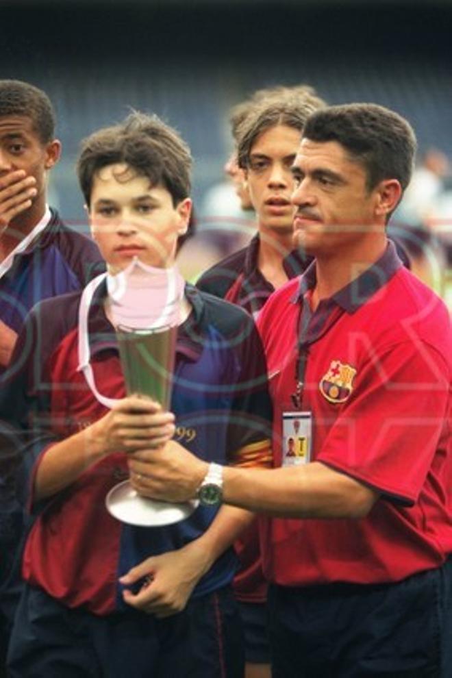 10. Andrés Iniesta 1999-2000