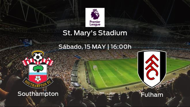 Previa del encuentro: el Southampton recibe al Fulham en la trigésimo sexta jornada