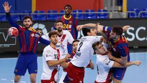 Barça y Logroño se midieron hace solo unos pocos días en el Palau