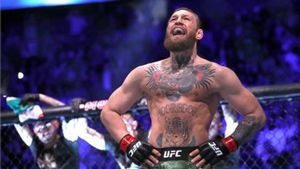Conor McGregor durante una de sus peleas
