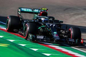 Bottas ha sumado la cuarta pole de la temporada