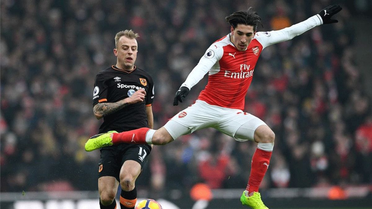 Barcelona on the offensive for Arsenal right-back Hector Bellerin
