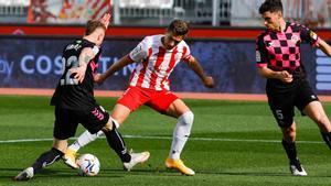 El resumen y los goles del Almería - Sabadell (2-2)