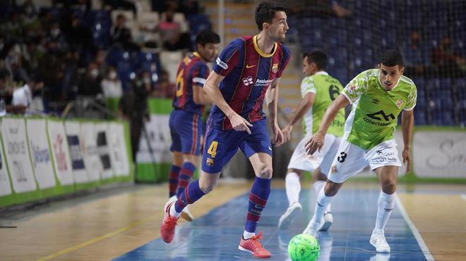 El Barça cayó con polémica en Palma en la primera vuelta