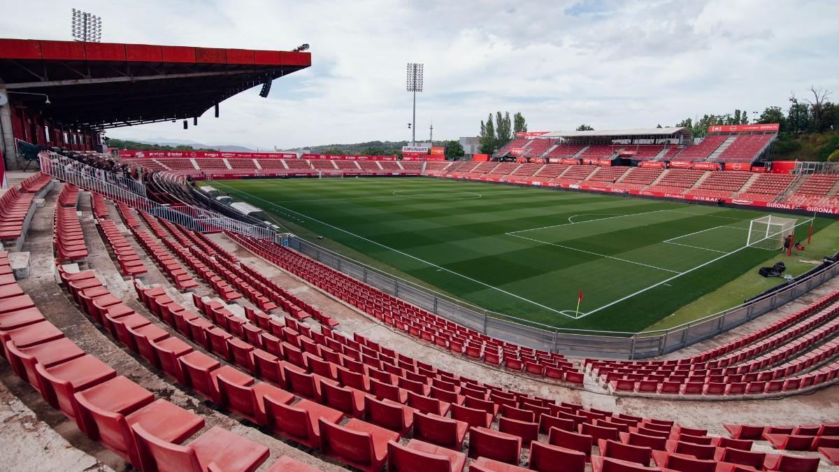 Montilivi, estadio del Girona