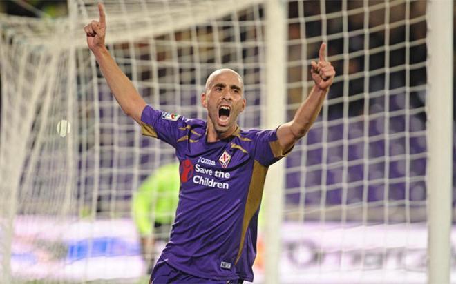 Borja Valero es feliz en la Fiorentina donde llegó el pasado 2012