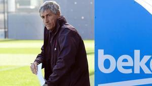 Primer once de la era Setién como entrenador azulgrana