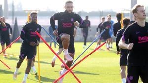 El Barça vuelve a los entrenamientos para preparar el clásico