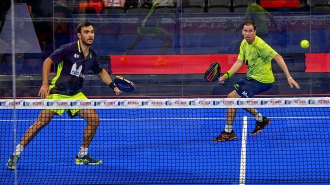 Pablo Lima y paquito Navarro ganaron el último torneo disputado en Marbella