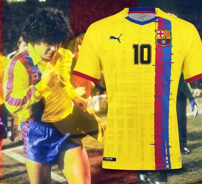 Así sería el Barça vestido por Puma