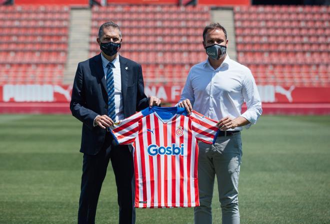 Gosbi, nuevo patrocinador principal del Girona FC para las tres próximas temporadas