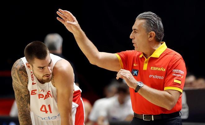 Scariolo confía en contar con Juancho Hernangómez para los Juegos