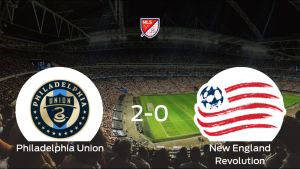 Victoria del Philadelphia Union por 2-0 frente al New England Revolution
